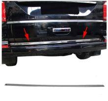 Накладка (кант) на низ двери багажника, Omsaline, сталь