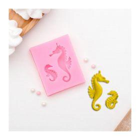 Молд силиконовый «Морские коньки», 6,3×5 см