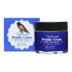 034087 JIGOTT Антивозрастной крем с экстрактом ласточкиного гнезда Bird's Nest Wrinkle Cream