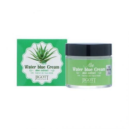 034094 JIGOTT Увлажняющий крем для лица с экстрактом алоэ Aloe Water Blue Cream