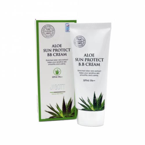 030430 JIGOTT ВВ-крем с экстрактом алоэ Aloe Sun Protect BB Cream Spf41 Pa++