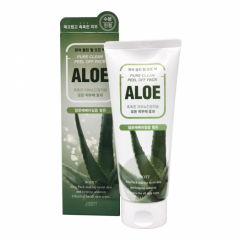 280023 JIGOTT Маска-плёнка для лица на основе экстракта алоэ Aloe Pure Clean Peel Off Pack