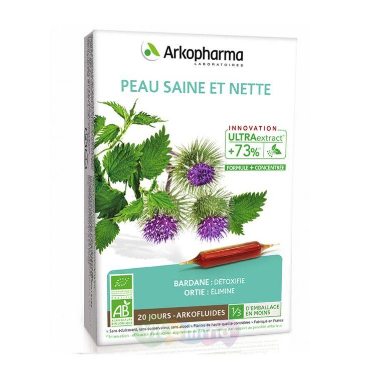 Arkopharma Здоровая и чистая кожа Peau Saine Et Nette