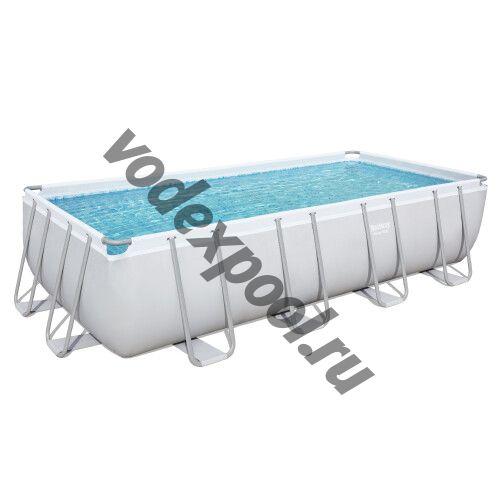 Каркасный бассейн Bestway 56671 (488х244х122 см) с песочным фильтром, лестницей и тентом