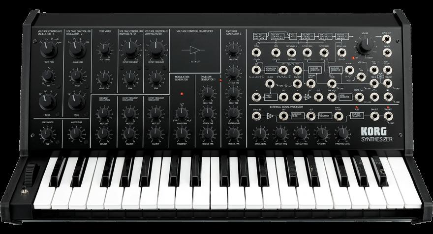Korg MS-20 FS BLACK Аналоговый синтезатор