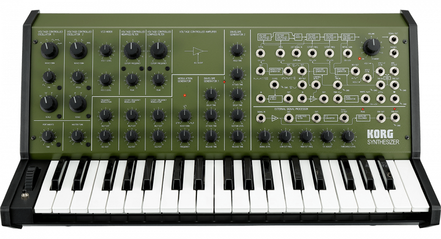 Korg MS-20 FS GREEN Аналоговый синтезатор