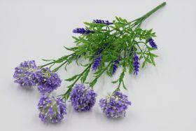 Куст лаванда с цветком  4629