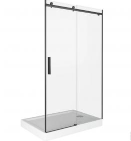 Душевая дверь BAS GALAXY WTW-110-C-B, профиль черный