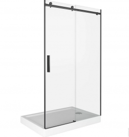 Душевая дверь BAS GALAXY WTW-140-C-B, профиль черный