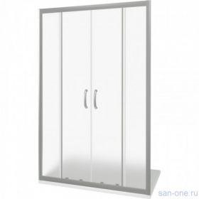 Душевая дверь BAS LATTE WTW-TD-160-G-WE, матовое стекло