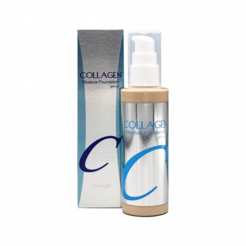 062379 ENOUGH Увлажняющий тональный крем с коллагеном Collagen Moisture Foundation SPF15 #21
