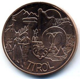 Австрия 10 евро 2014 Тироль