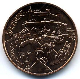 Австрия 10 евро 2014 Зальцбург