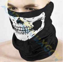 Маска шарф на лицо защитная череп