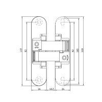 Скрытая петля Anselmi AN 150 3D (521). схема