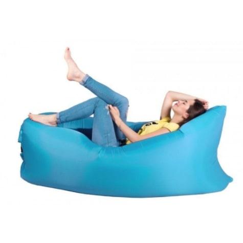 Надувной диван матрас-гамак Lamzac Ламзак - комфортное и просторное место отдыха для детей и взрослых в различных условиях.