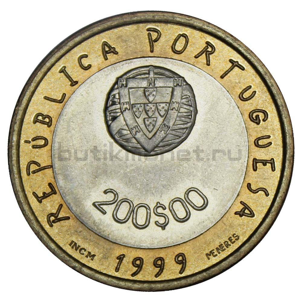 200 эскудо 1999 Португалия ЮНИСЕФ