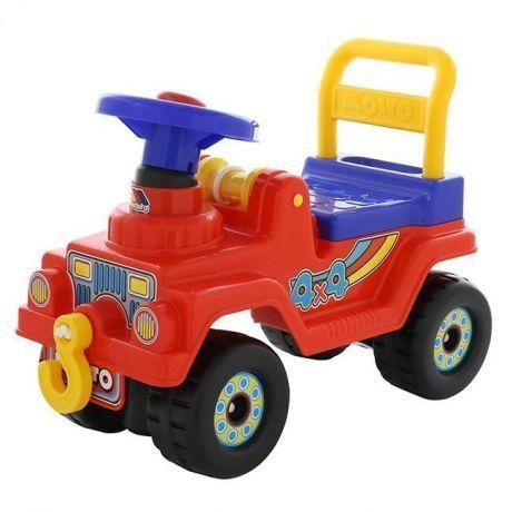 Каталка Джип 4*4 № 3 красный 71798 П-Е