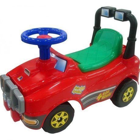 Каталка Джип № 3 красный 71859 П-Е