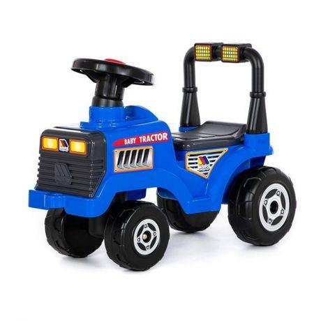 Каталка-трактор Митя синяя 84729 П-Е