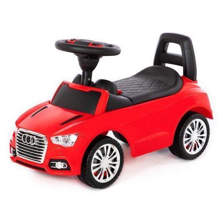 Каталка-автомобиль SuperCar №2 со звуковым сигналом красная 84545 П-Е