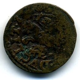 Литва солид боратинка 1659-1668