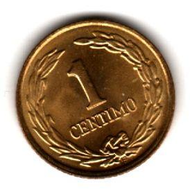 Парагвай 1 сентимо 1950