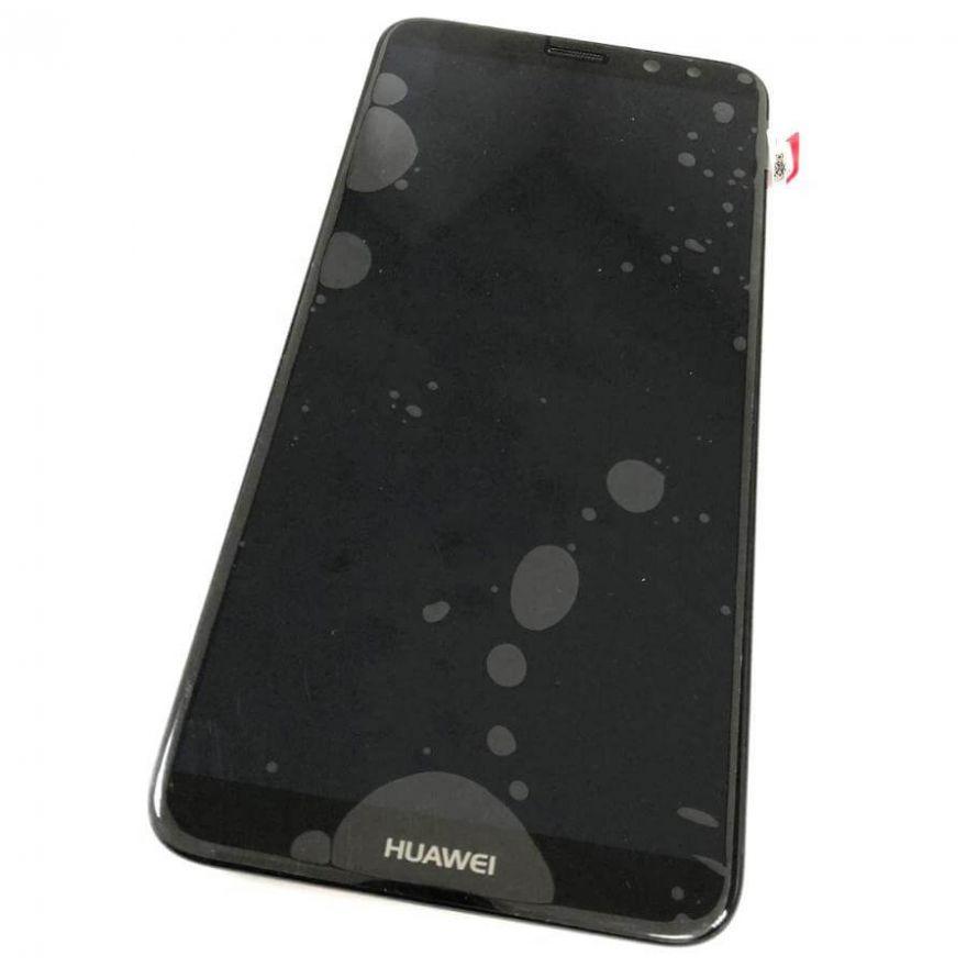 LCD (Дисплей) Huawei Mate 10 Lite/Nova 2i (RNE-L21) (в сборе с тачскрином) (в раме c speaker, аккумулятором, вибромотором и FLC боковых кнопок) (black) Оригинал