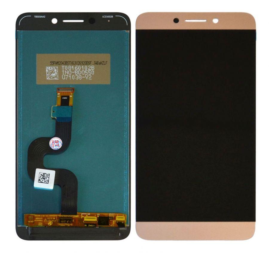LCD (Дисплей) LeEco Le 2 X520/Le 2 X526/Le 2 X527/Le 2 X620/Le S3 X522 (в сборе с тачскрином) (pink-gold) Оригинал