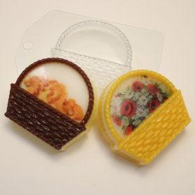 Форма для мыла и шоколада Корзина