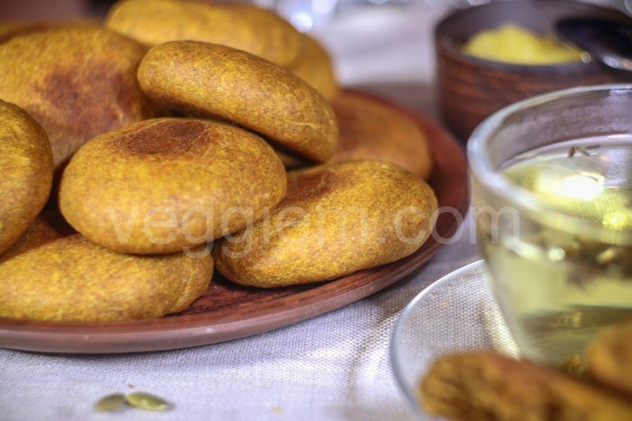 Тыквенное печенье,45 грамм