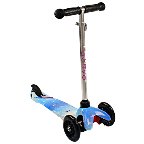 Самокат Scooter Mini Flash. Цвет: Dolphin.