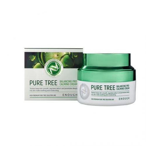 484978 ENOUGH Крем для лица с экстрактами чайного дерева Pure Tree Balancing Pro Calming Cream
