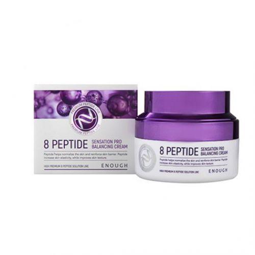 484954 ENOUGH Антивозрастной крем на основе 8 пептидов 8 Peptide Sensation Pro Balancing Cream