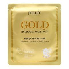 803572 Petitfee Гидрогелевая маска для лица с золотым комплексом Gold Hydrogel Mask Pack