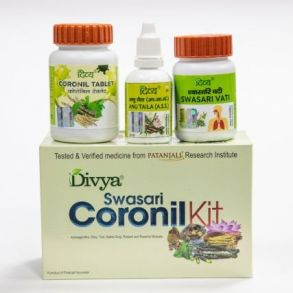 КОРОНИЛ  Coronil Kit (Coronil + Swasari + Anu Taila) Full Kit
