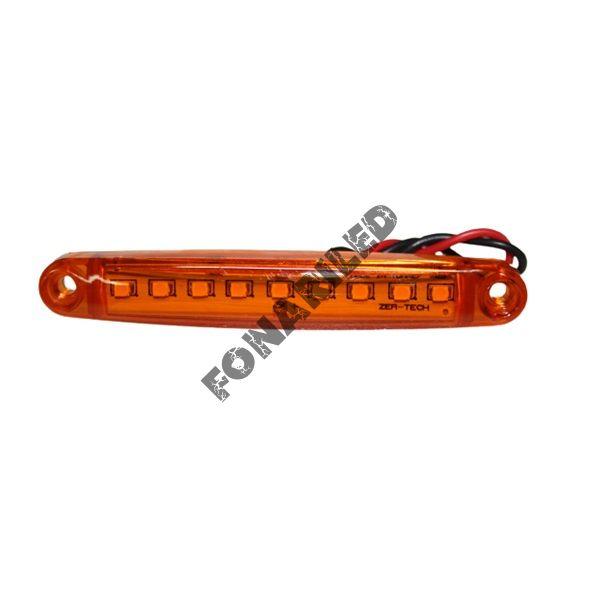 Светодиодные габариты на прицеп GF-U-9SMD-Orange оранжевый