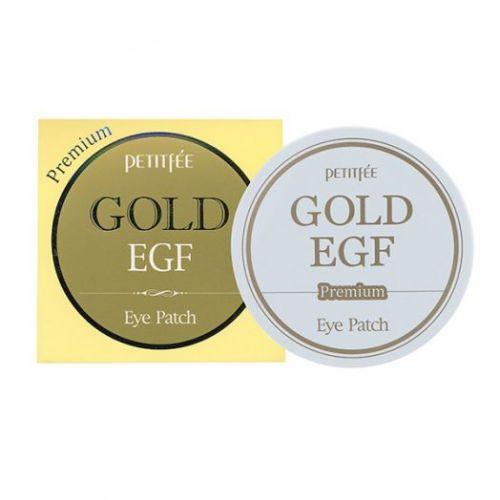 802445 Petitfee Гидрогелевые патчи для глаз Premium Gold EGF Eye Patch