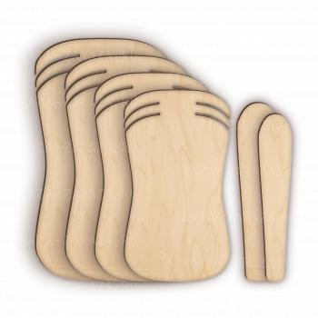 Комплект Деревянных Планшетов для покраски и расклейки страз