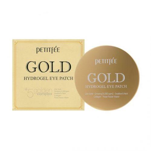 803596 Petitfee Гидрогелевые патчи для кожи вокруг глаз Gold Hydrogel Eye Patch