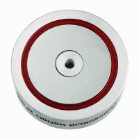 Двусторонний поисковый магнит НЕПРА 2F600 - фото