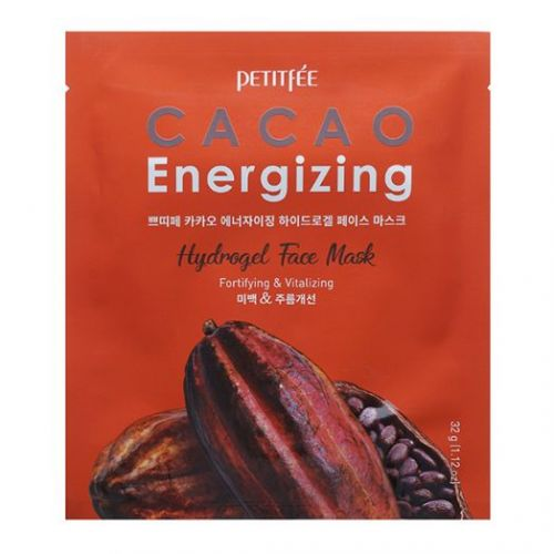 850672 Petitfee Маска для лица Cacao Energizing Hydrogel Face Mask