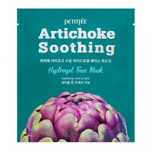 850511 Petitfee Маска для лица с артишоком Artichoke Soothing Hydrogel Face Mask
