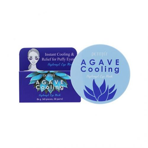 850429 Petitfee Охлаждающие гидрогелевые патчи с экстрактом агавы Agave Cooling Hydrogel Eye Mask