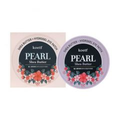 802629 Koelf Гидрогелевые патчи для кожи вокруг глаз с жемчугом и маслом ши Pearl Shea Butter Eye Patch