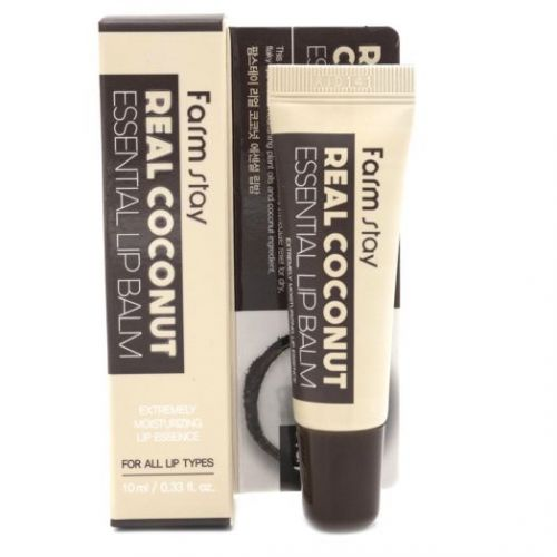883201 FarmStay Бальзам для губ с экстрактом кокоса Real Coconut Essential Lip Balm