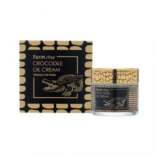043075 FarmStay Питательный крем с крокодильим жиром Crocodile Oil Cream