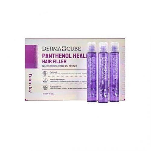 881620 FarmStay Питательный филлер для волос с пантенолом DERMA СUBE Panthenol Healing Hair Filler