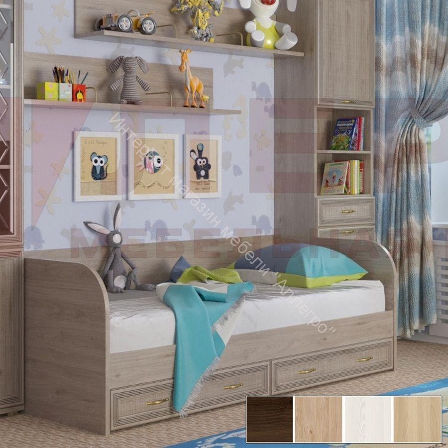 Кровать КР-1042 (0,9х1,9) Карина