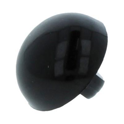 Глазки пришивные 10,5мм черный